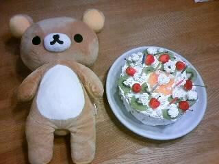 7才の誕生日ケーキ