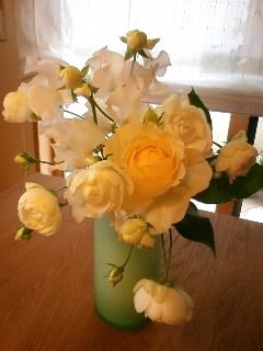 花がほしくて…